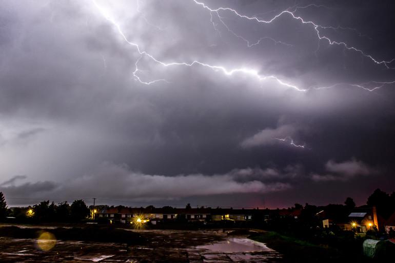 Des orages (illustration)