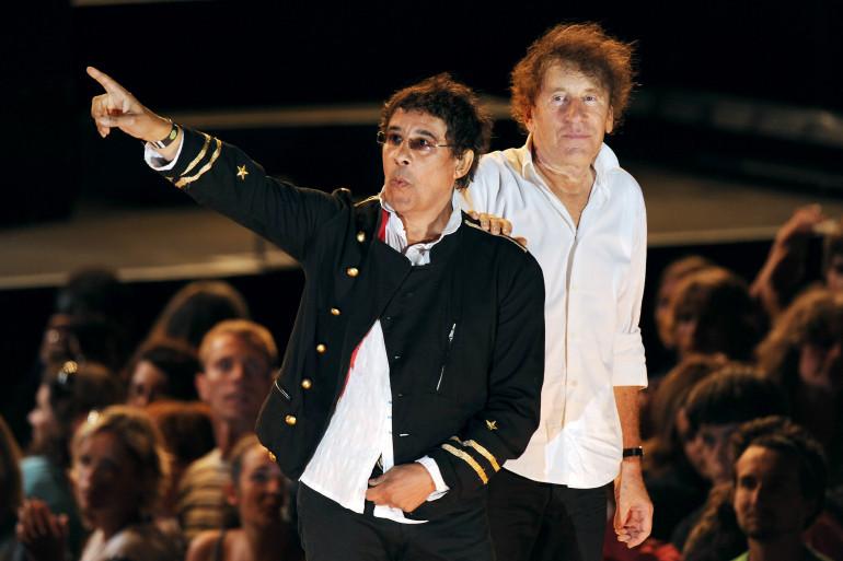 Laurent Voulzy et Alain Souchon aux Francofolies en 2010