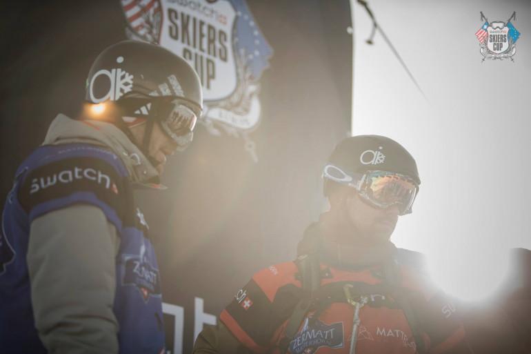 JP Auclair, lors de la Swatch Skiers Cup