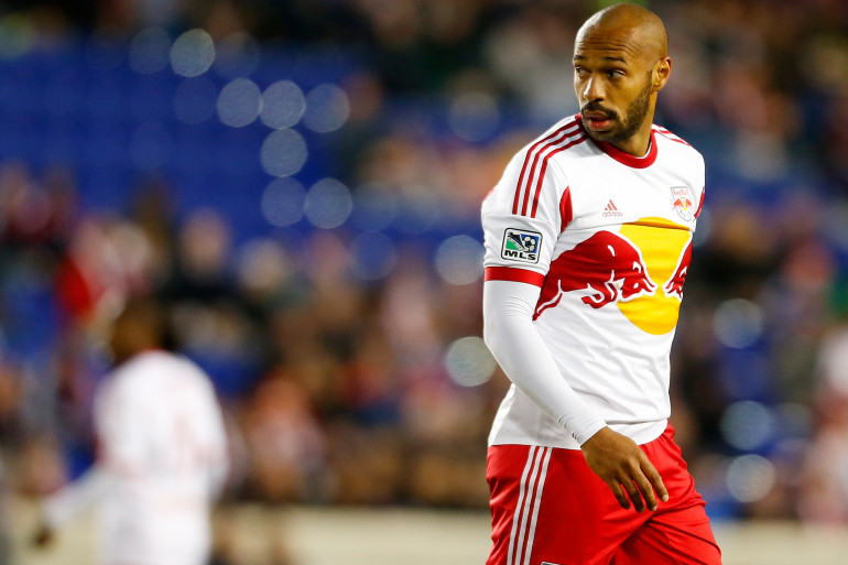 Thierry Henry, le 16 avril, sous le maillot des New York Red Bulls. (archives)