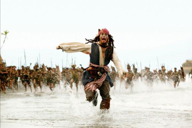 """Johnny Depp est de retour dans le 5ème volet de """"Pirates des Caraïbes"""""""