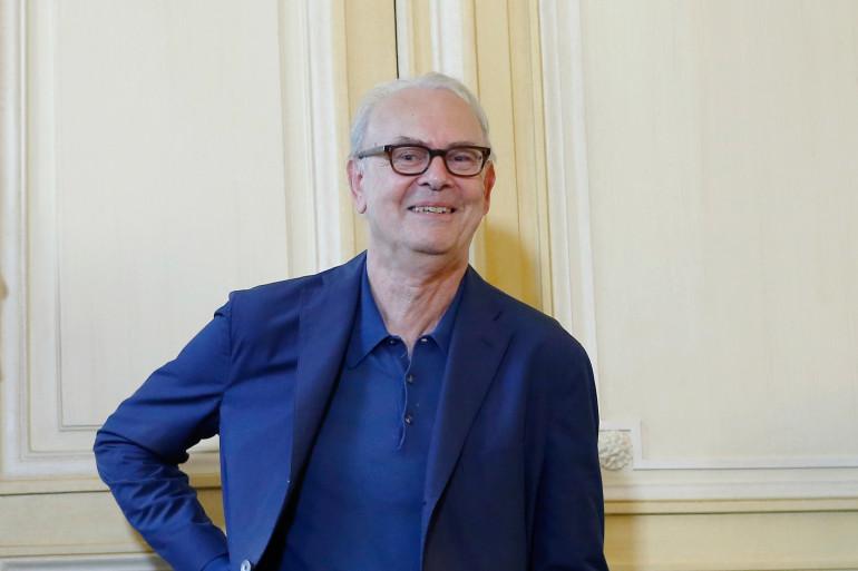 Patrick Modiano le 9 octobre 2014 à Paris