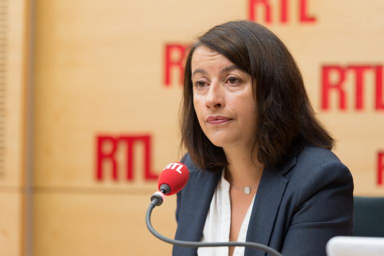 Cécile Duflot, invitée de RTL, le 10 octobre 2014