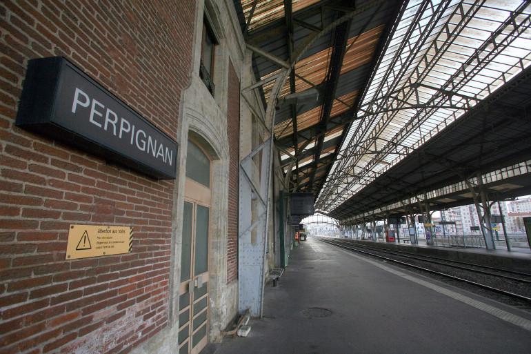 La gare de Perpignan, épicentre d'une série de crimes sordide entre 1995 et 1998.