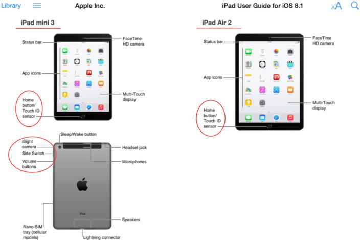 Les photos de l'iPad Air 2 et de l'iPad mini 3 auraient fuité sur l'iTunes store 24 heures avant la keynote d'Apple