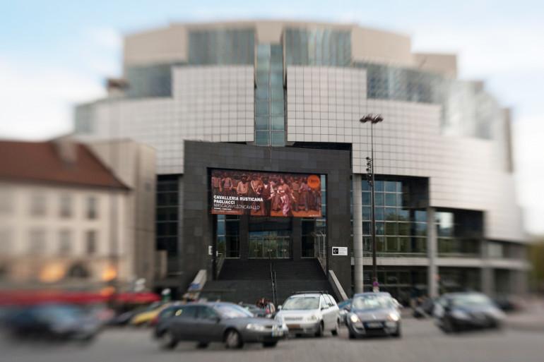 L'Opéra Bastille à Paris. (Illustration)