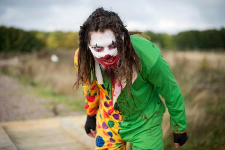 Un faux-clown (illustration)
