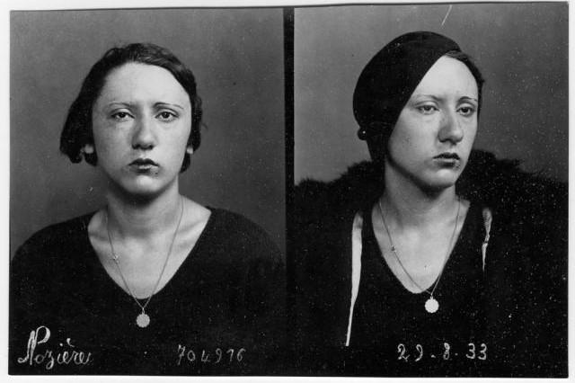 Violette Nozière en 1933 ; elle a alors 18 ans