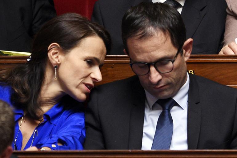 Les anciens ministres Aurélie Filippetti et Benoît Hamon déchirent le Parti socialistes après leur abstention lors du vote sur la partie recettes du budget 2015