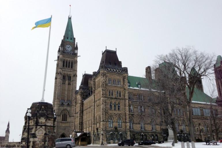Le Parlement à Ottawa (illustration)