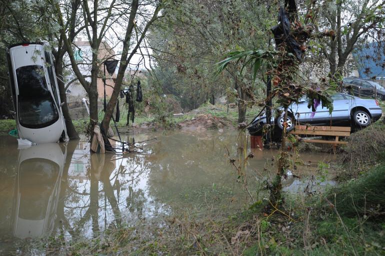 Un hébergement d'urgence doit être trouvé à Montpellier pour les Roms dont les caravanes ont été détruites dans les intempéries. (Illustration)