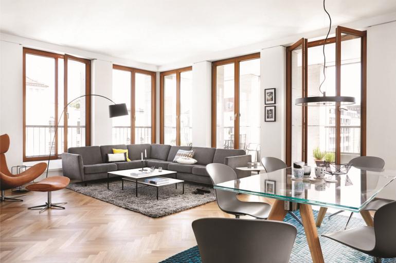 Appartement de Berlin, BoConcept