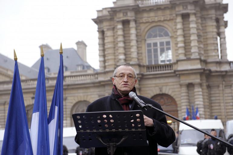 Le co-fondateur du SIEL Paul-Marie Coûteaux à Paris le 31 janvier 2012. (archives)