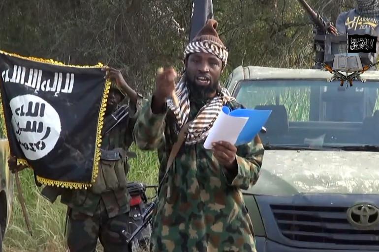 Le chef de Boko Haram, Aboubakar Shekau, le 2 octobre 2014.
