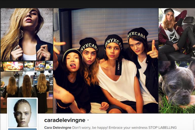 Cara Delevingne compte plus de plus 7 millions de followers sur Instagram