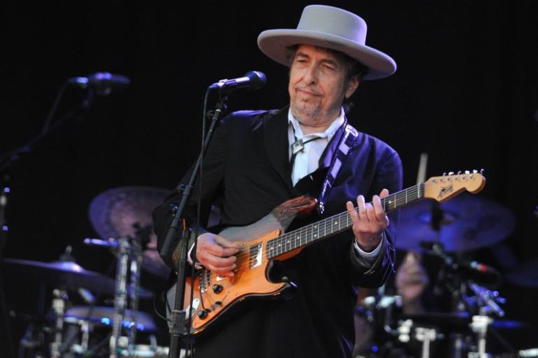 Bob Dylan, le 22 juillet 2012, au festival des Vieilles Charrues. (archives)