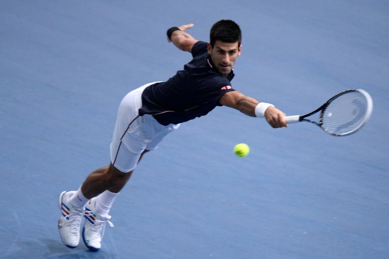 Le Serbe Novak Djokovic en octobre 2014 à Paris