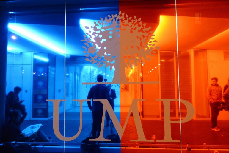 Le logo de l'UMP (illustration).