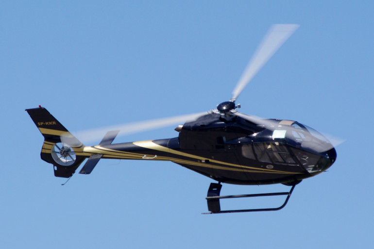Un hélicoptère type EC130 (illustration).