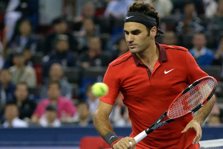 Roger Federer en octobre 2014