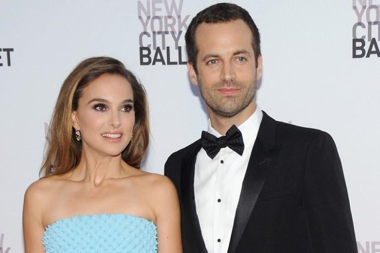Benjamin Millepied et sa femme, l'actrice Natalie Portman