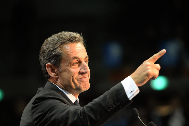 Nicolas Sarkozy, le 28 octobre 2014, à Marseille. (archives)