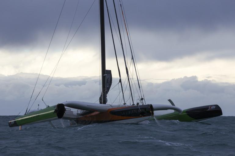 Thomas Coville a heurté un cargo et a été obligé d'abandonner dans cette 10e édition de la Route du Rhum