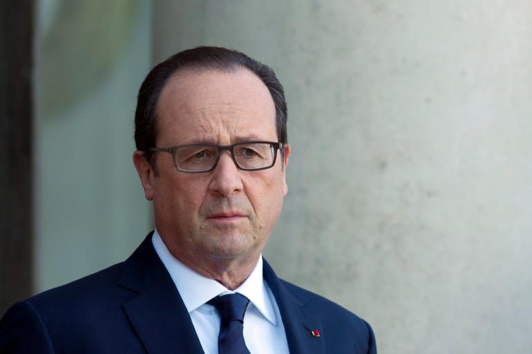 François Hollande à l'Elysée, le 31 octobre 2014.