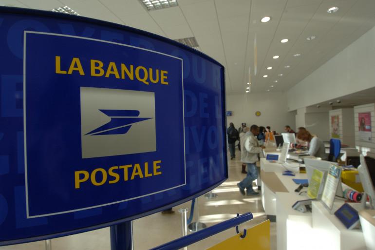 Un guichet de la Banque postale (illustration)