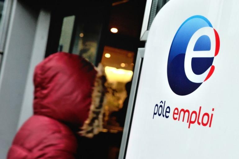 Une agence Pôle Emploi de Villeneuve d'Ascq, le 27 décembre 2013.
