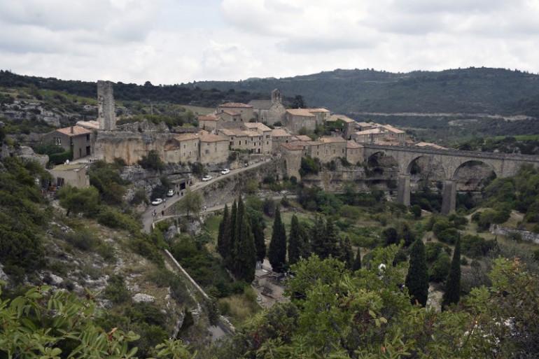 Le village de Minerve dans l'Hérault