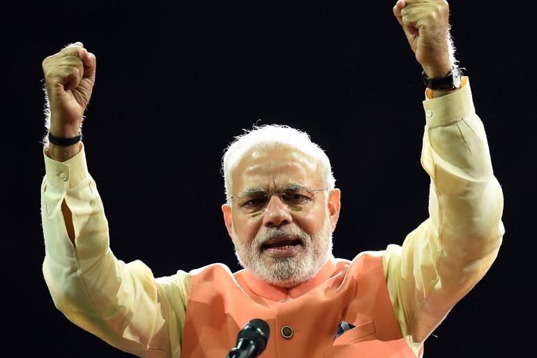 Le Premier ministre indien Narendra Modi a désigné un ministre du yoga. (archives)