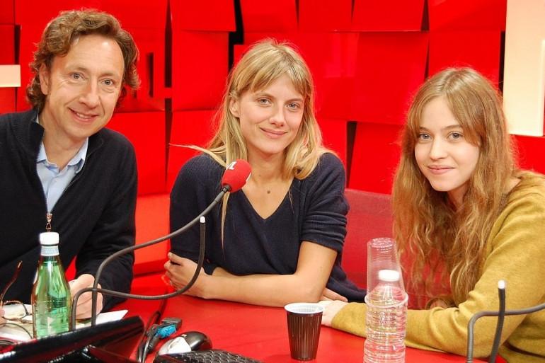 Mélanie Laurent et Lou De Laâge invitées de Stéphane Bern sur RTL