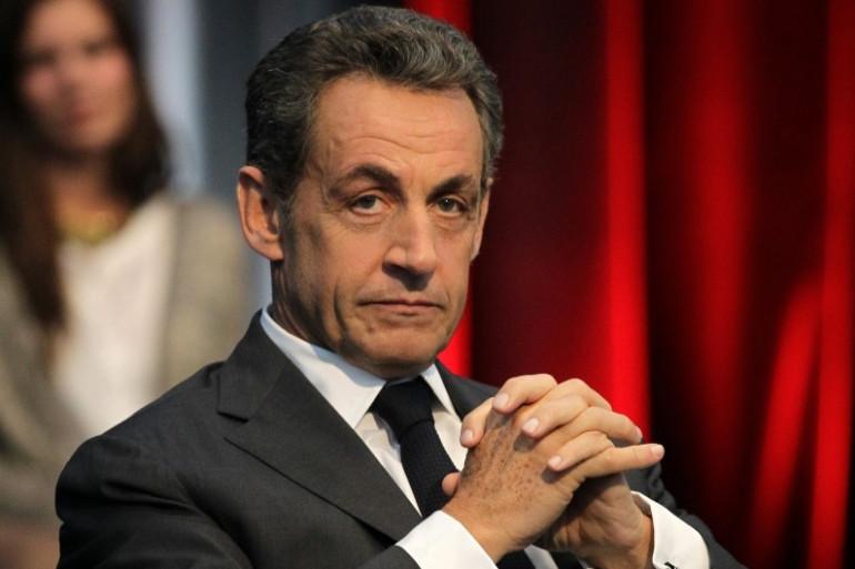 Nicolas Sarkozy, le 10 novembre, à Caen