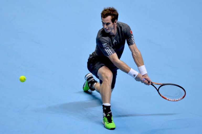 Le Britannique Andy Murray à Londres en novembre 2014