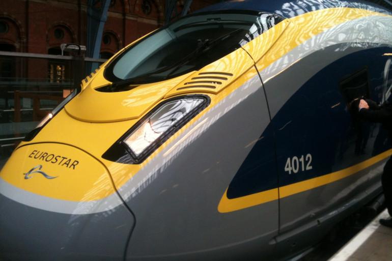 Le nouveau modèle de l'Eurostar