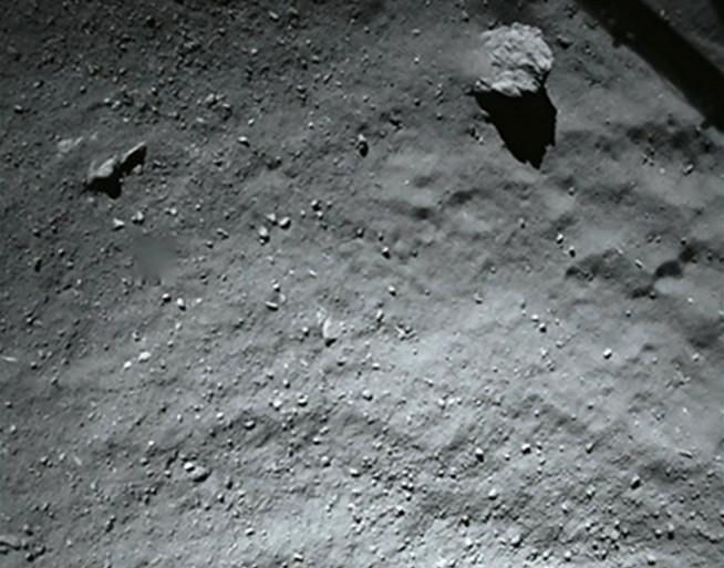 """Philae est """"entré en mode veille"""" sur la comète."""