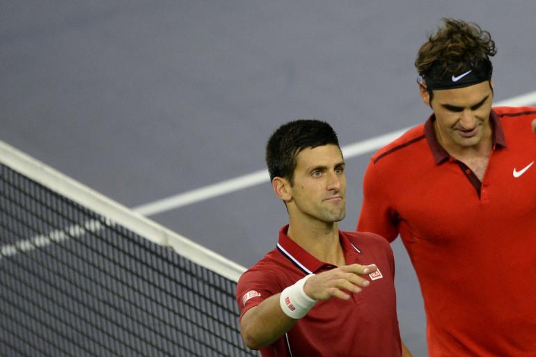 Novak Djokovic et Roger Federer devaient s'affronter en finale du Masters de Londres, dimanche 16 novembre