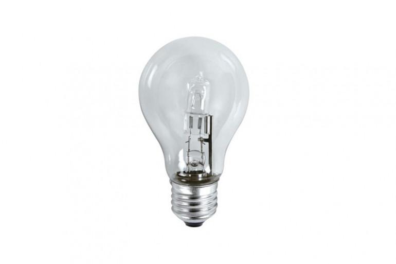Une ampoule halogène