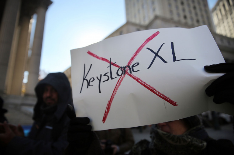 Le Sénat américain vote contre l'oléoduc Keystone XL