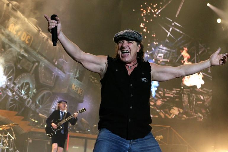 AC/DC, à Budapest, le 23 mars 2009. (archives)