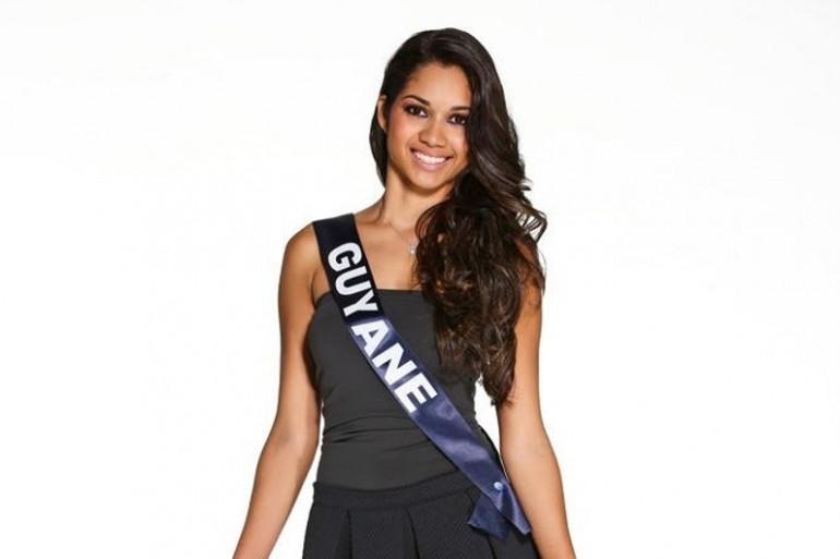 Valéria Coelho Maciel, Miss Guyane