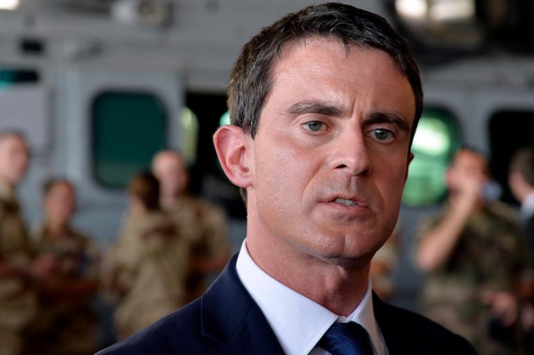 Manuel Valls s'est rendu au Tchad samedi 22 novembre.
