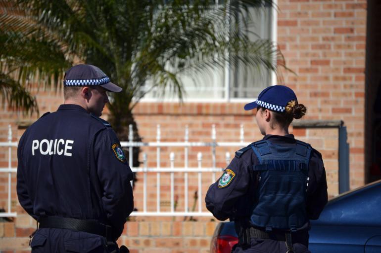 Police australienne, le 18 septembre, à Sydney. (archives)