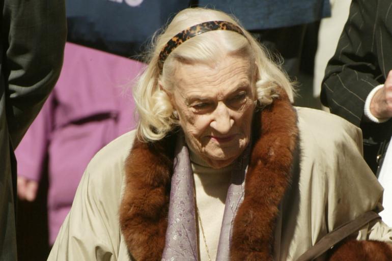 Hélène Duc à Paris, le 31 mars 2003. (Archives)