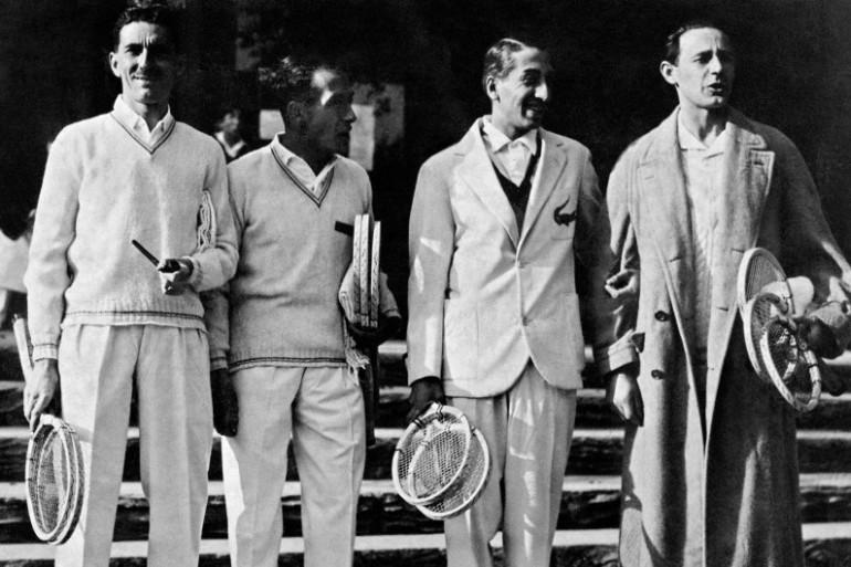 Jacques Brugnon, Henri Cochet, René Lacoste et Jean Borotra ont remporté six Coupe Davis entre 1927 et 1932