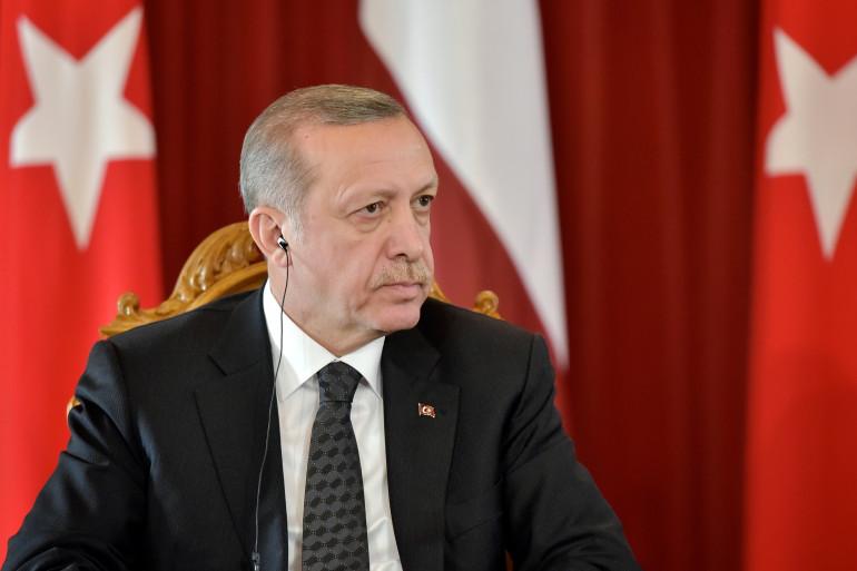 Recep Tayyip Erdogan, président islamo-conservateur, est habitué des sorties provocatrices (archives).