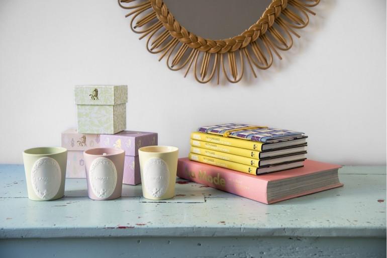 Les trois bougies, collaboration avec Ladurée, Westwing