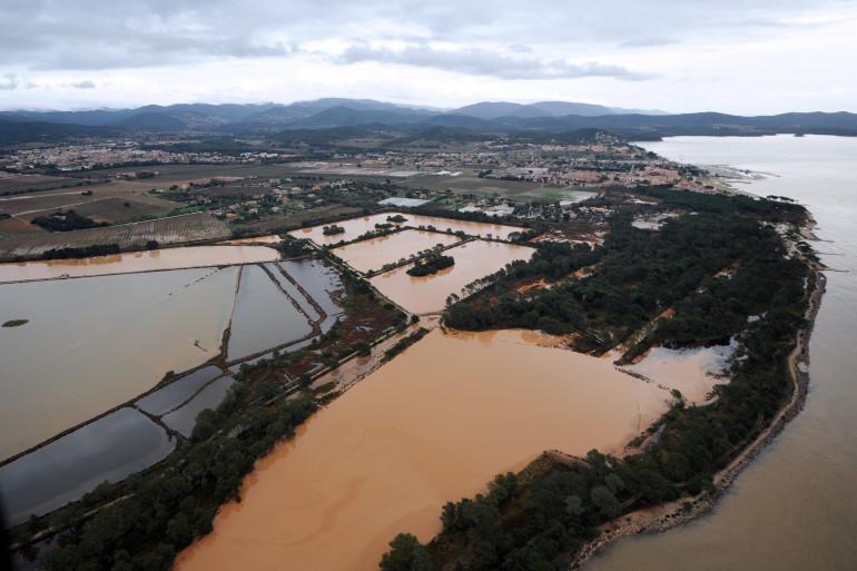 Hyères lors d'une inondation, le 20 janvier 2014. (Archives)