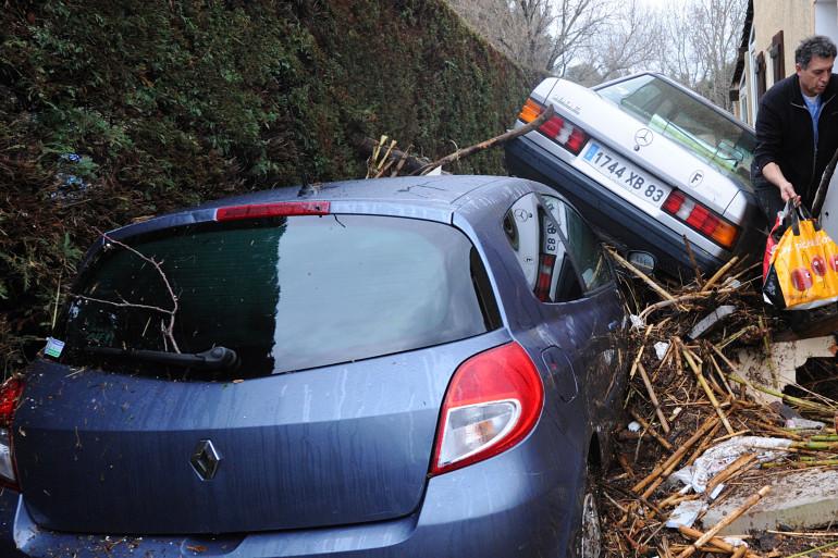 Des inondations avaient déjà frappé La Londe (Var) en janvier 2014. (archives)